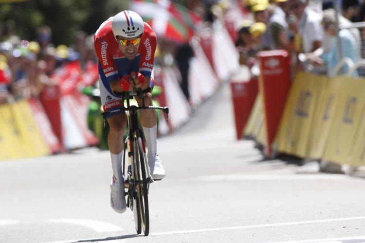 Tour de France 2016 - 13a tappa Bourg-Saint-AndŽol / La Caverne du Pont-d'Arc 37,5 km - 14/06/2016 - Tom Dumoulin (Giant - Alpecin) - foto Dion Kerkhoffs/BettiniPhoto©2016