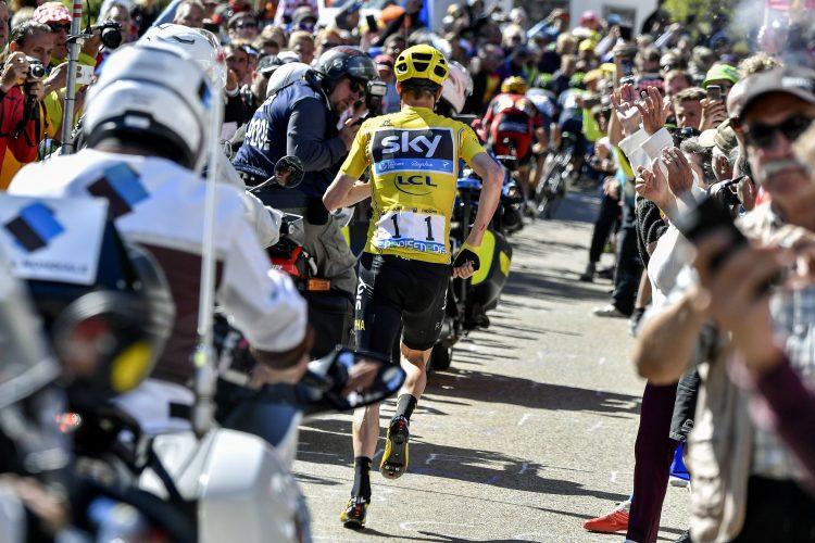 Tour de France 2016 - 103a Edizione - 12a tappa Montpellier - Mont Ventoux 184 km - 14/07/2016 - Christopher Froome (Team Sky) - foto POOL Jeff Pachoud/AFP/BettiniPhoto©2016