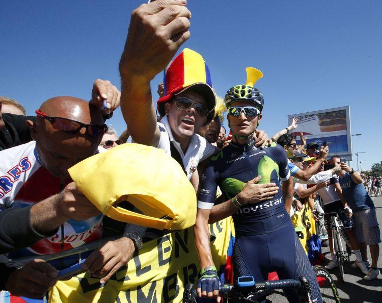 Tour de France 2016 - 103a Edizione - 14a tappa Montelimar - Villars les Dombes Parc des Oiseaux 208.5 km - 16/07/2016 - Winner Anacona (Movistar) - foto Dion Kerckhoffs/CV/BettiniPhoto©2016