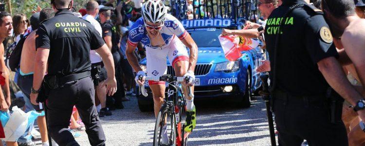 Vuelta Spagna 2016 - 3a tappa Marin - Mirador Ezaro 176,4 km - 22/08/2016 - Alexandre Geniez (FDJ) - foto Graham WatsonBettiniPhoto©2016
