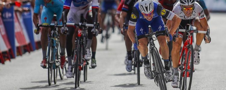 Vuelta Spagna 2016 - 5a tappa Viveiro - Lugo 171,3 km - 24/08/2016 - Gianni Meersman (Etixx - Quick Step) - Fabio Felline (Trek - Segafredo) - foto Luis Angel Gomez/BettiniPhoto©2016