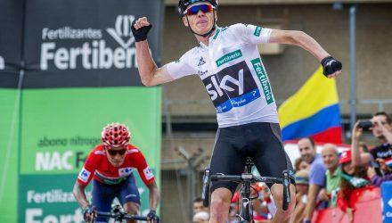 Vuelta Spagna 2016 - 11a tappa Colunga - Pena Cabarga 168,6 km - 31/08/2016 - Christopher Froome (Team Sky) - Nairo Quintana (Movistar) - foto Sabine Jacob/CV/BettiniPhoto©2016