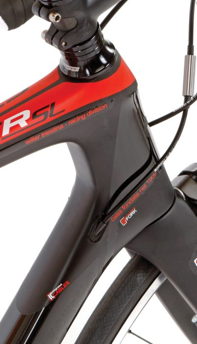 The GTR SL is a diverse bike that combines comfort with performance elements.