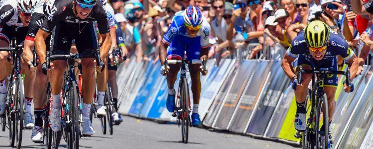 Tour Down Under stage 1 Sprint Finish