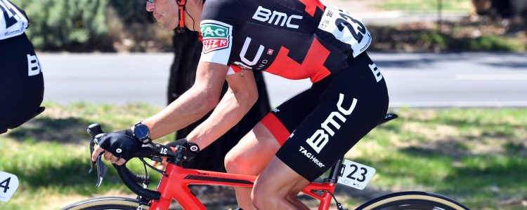 Richie Porte looks to be down to climbing weight