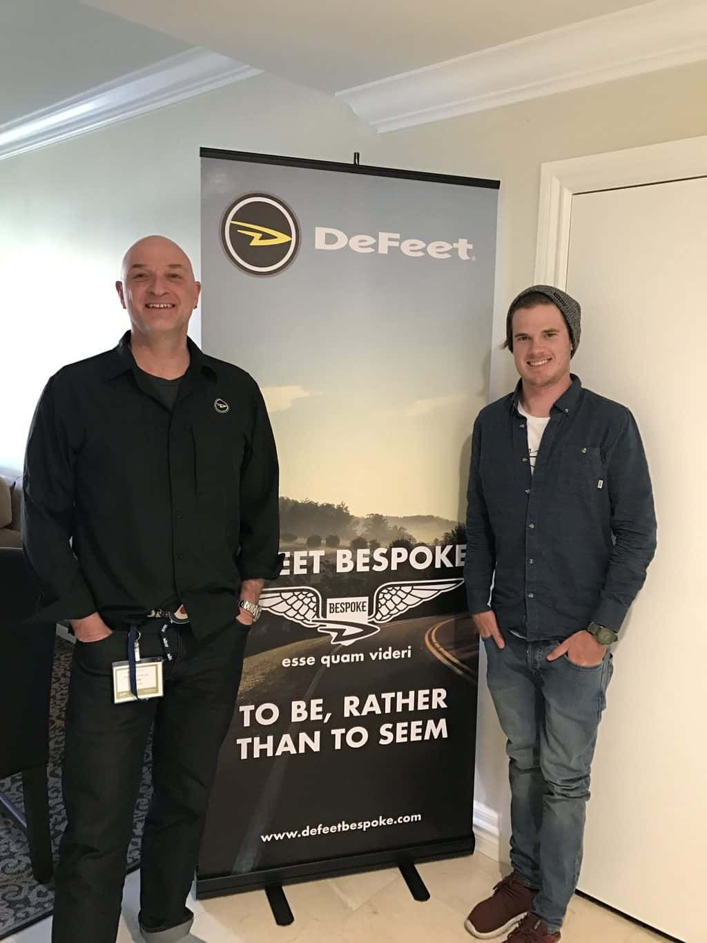 DeFeet are very excited with their new platform of using a crowd platform process to introduce new products to the public.