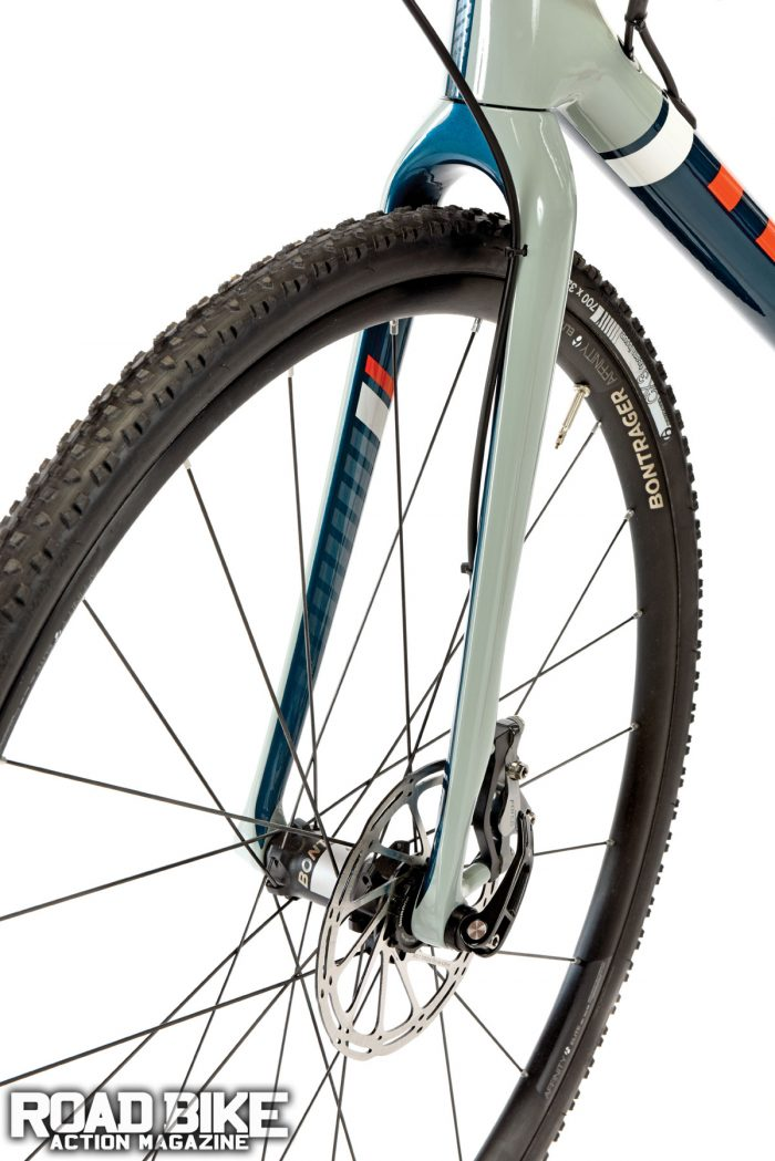 Any road bike can be ridden off-road—some better than others. The Trek Boone excels as a 'cross-specific race bike, but lack of wheel clearance limits its dual-purpose use.