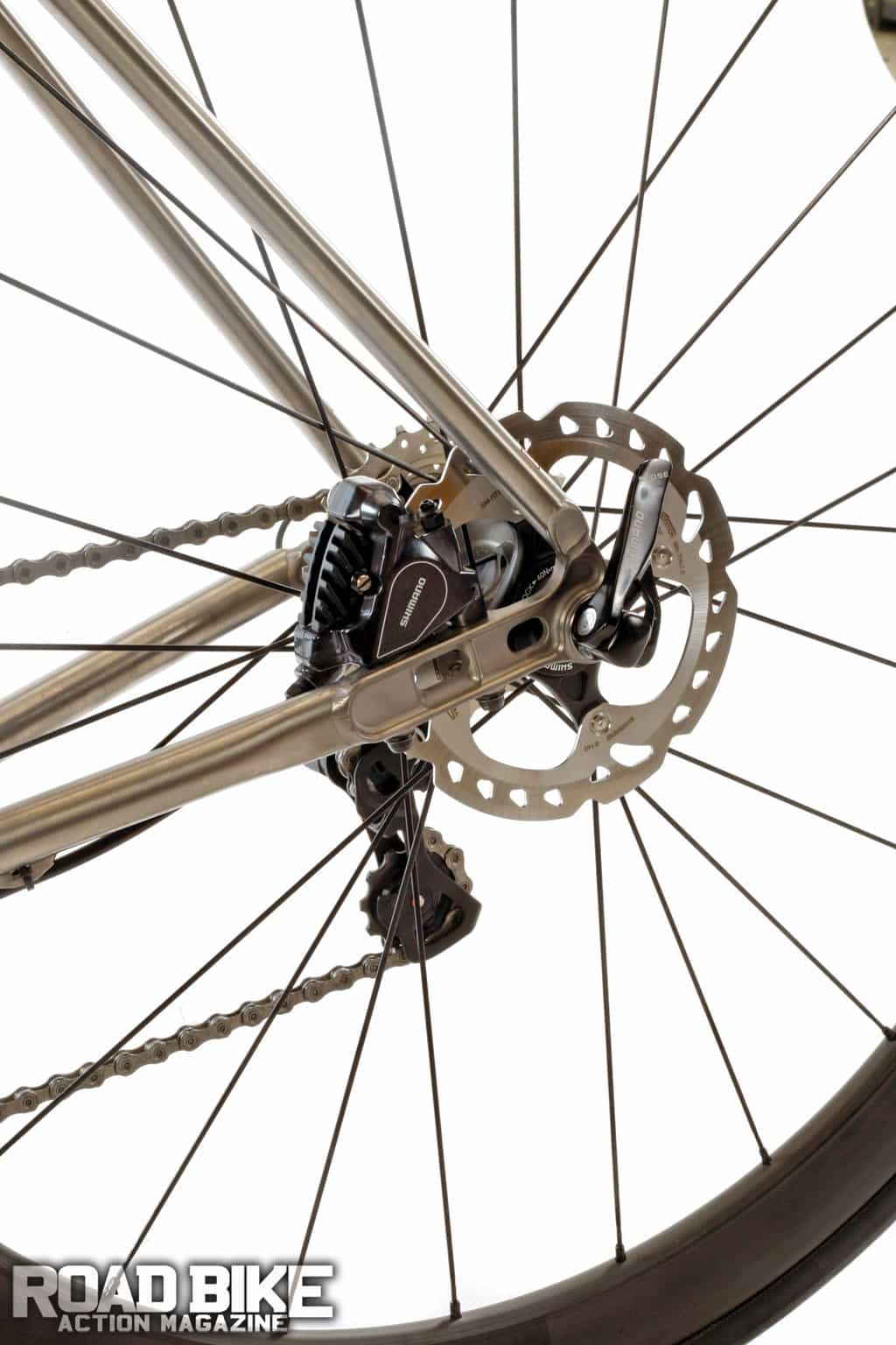 Two Faces of Titanium | Road Bike Action