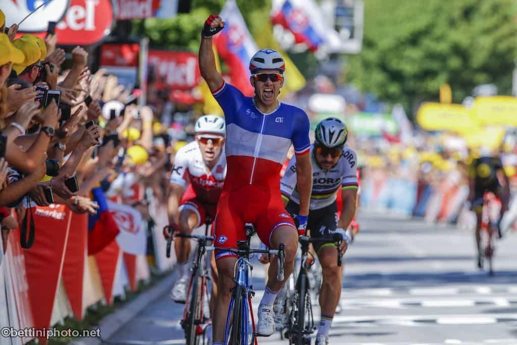 725683c2b Tour de France 2017 - 104th Edition - 4th stage Mondotf les Bains - Vittel  207.5 km - 04 07 2017 - Arnaud Demare (FRA - FDJ) - photo Luca ...