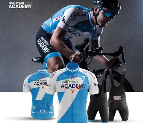 fe058fd7e Israel Cycling Academy Unveils Jersey for 2018