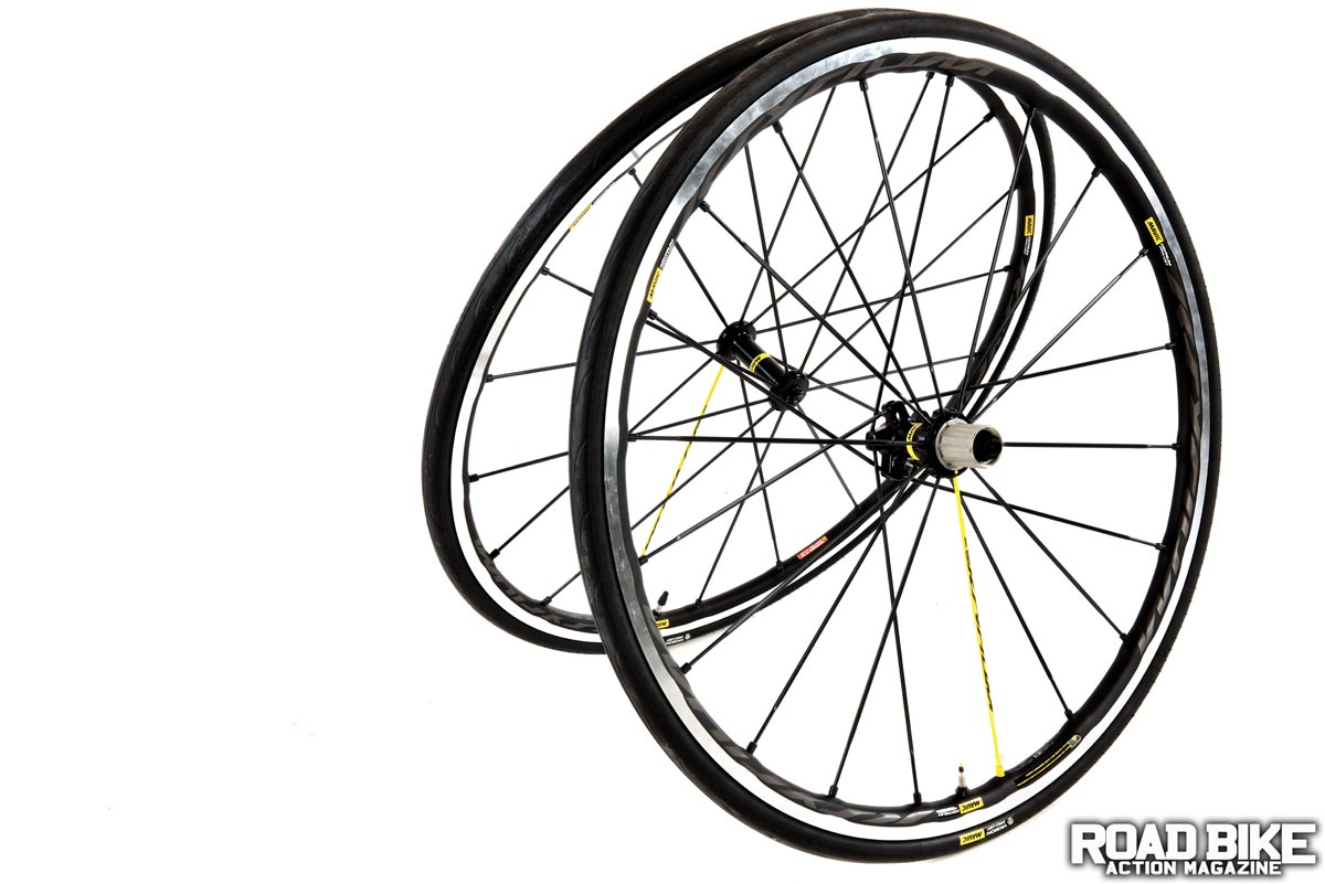 1eab1b01f8d Wheel Test: Mavic Ksyrium Elite UST   Road Bike Action