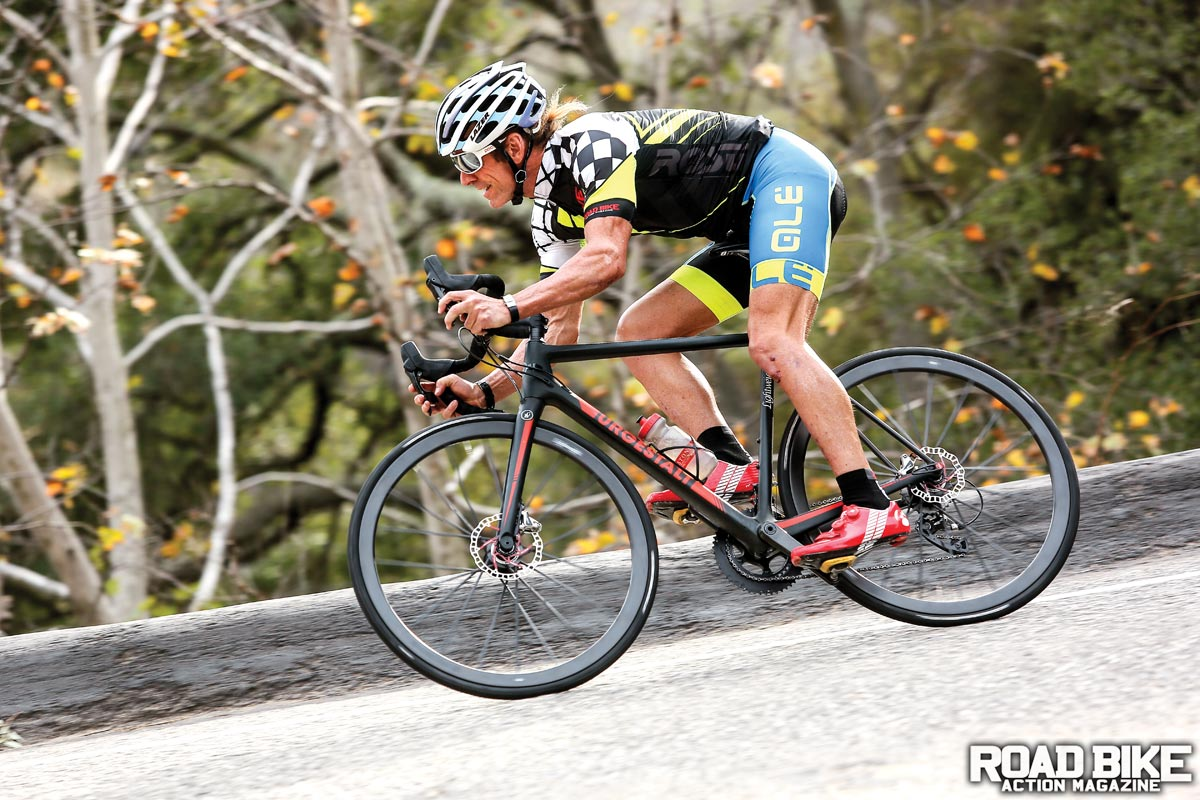 Bike Test: The German Superbike   Road Bike Action