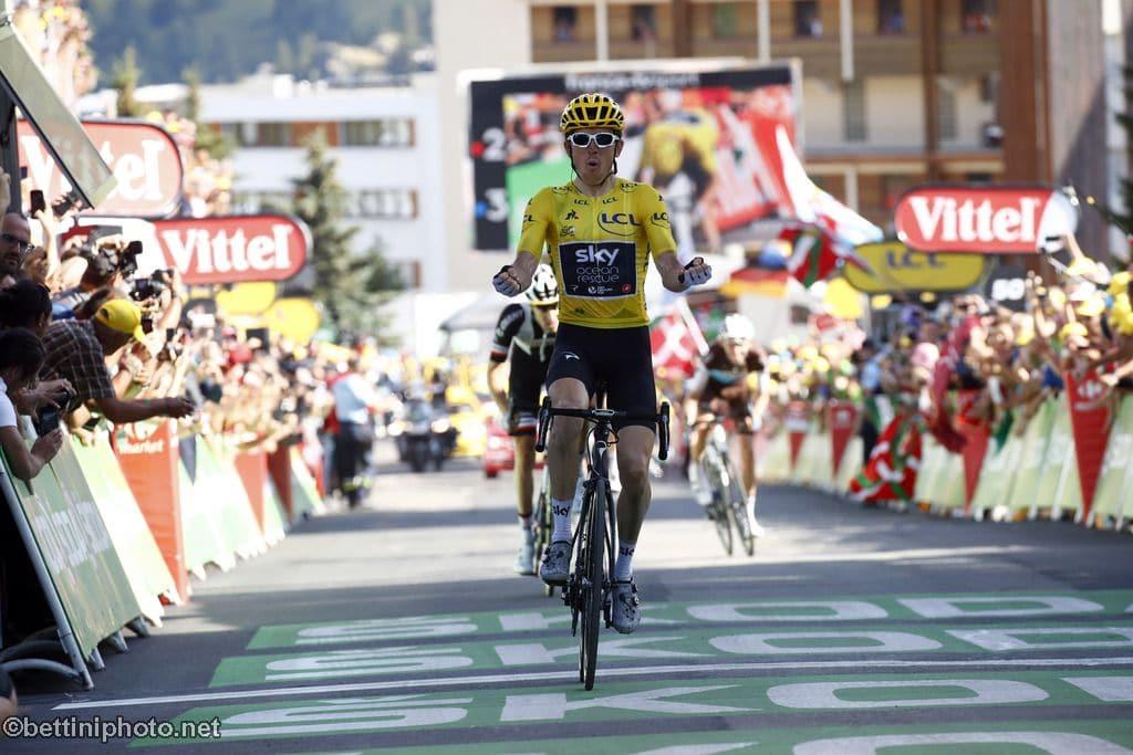 7529d657d Bourg-Saint-Maurice Les Arcs - Alpe d Huez - Geraint Thomas (GBR - Team Sky)