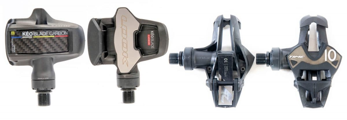dd8855f9bfcb Look Keo Blade versus Time Xpresso pedals | Road Bike Action