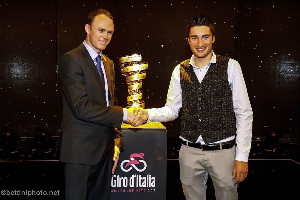 Chris Froome Uncertain of Giro d'Italia Title Defense