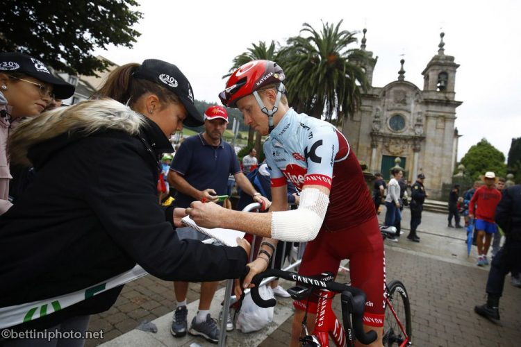 Ian Boswell Recovering from Crash at Tirreno Adriatico