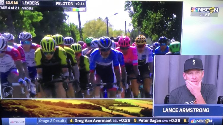 Updated: Lance Armstrong Joined NBC Sports' Tour de France Live Coverage | Road Bike Action