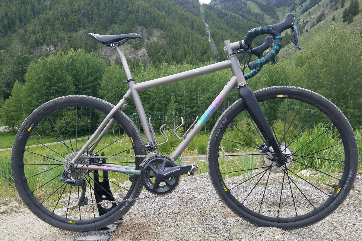 First Look: Moots Routt YBB - Video | Road Bike Action