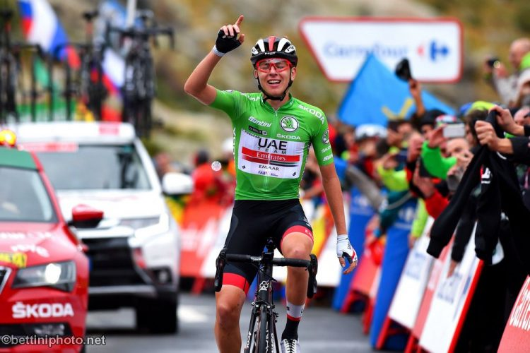 Watch 20-Year-Old Tadej Pogacar Stage 20 Victory | Road Bike Action