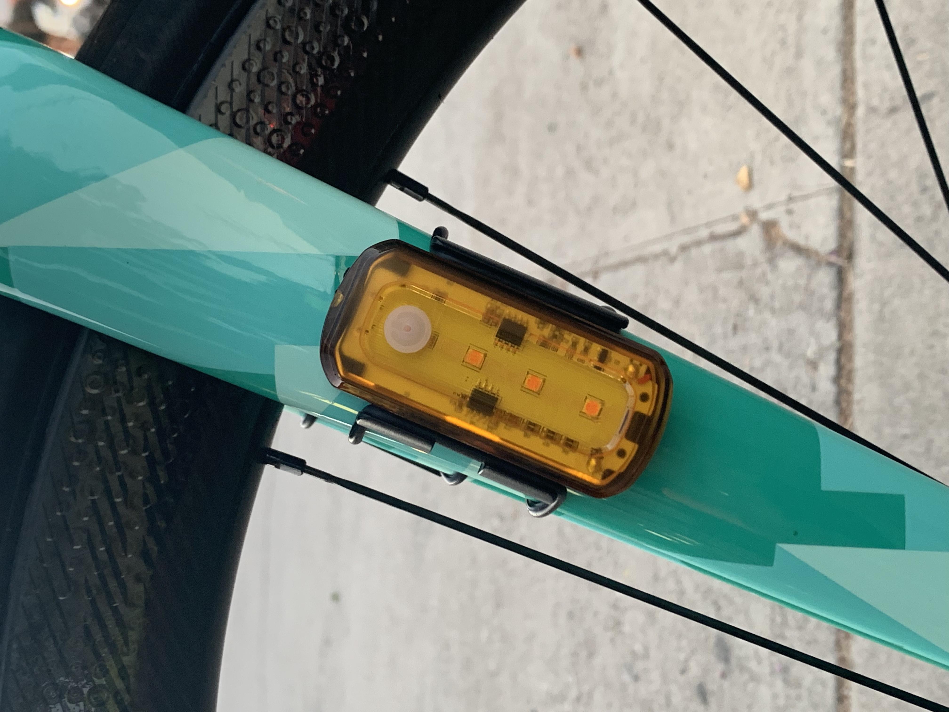 Product Test: Blackburn Grid Side Beacon Light Set | Road Bike Action