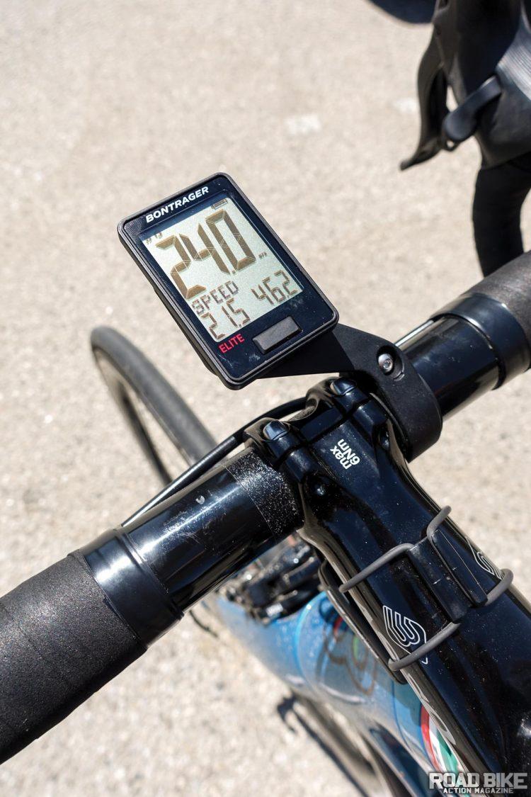 Product Test Bontrager Ridetime Elite Road Bike Action