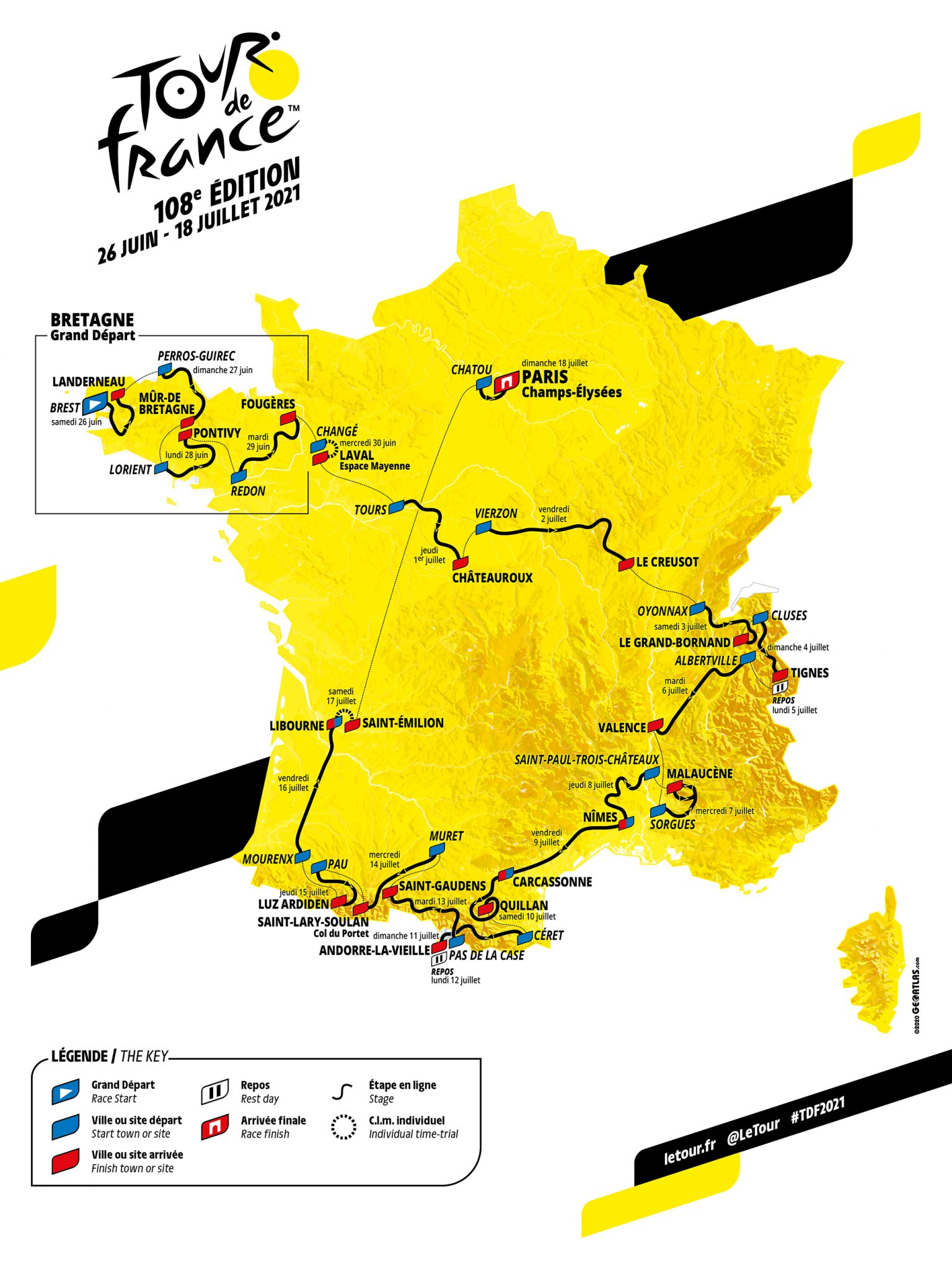 Tour The France 2021
