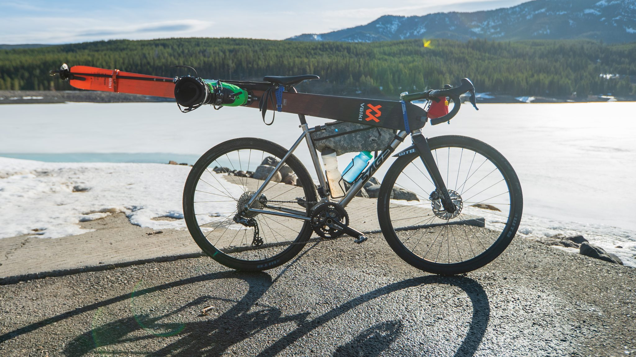 WHEN CYCLING MEETS BACKCOUNTRY SKIING: VIDEO