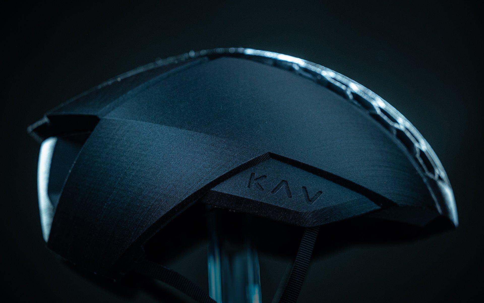 KAV LAUNCHES 3D PRINTED HELMET